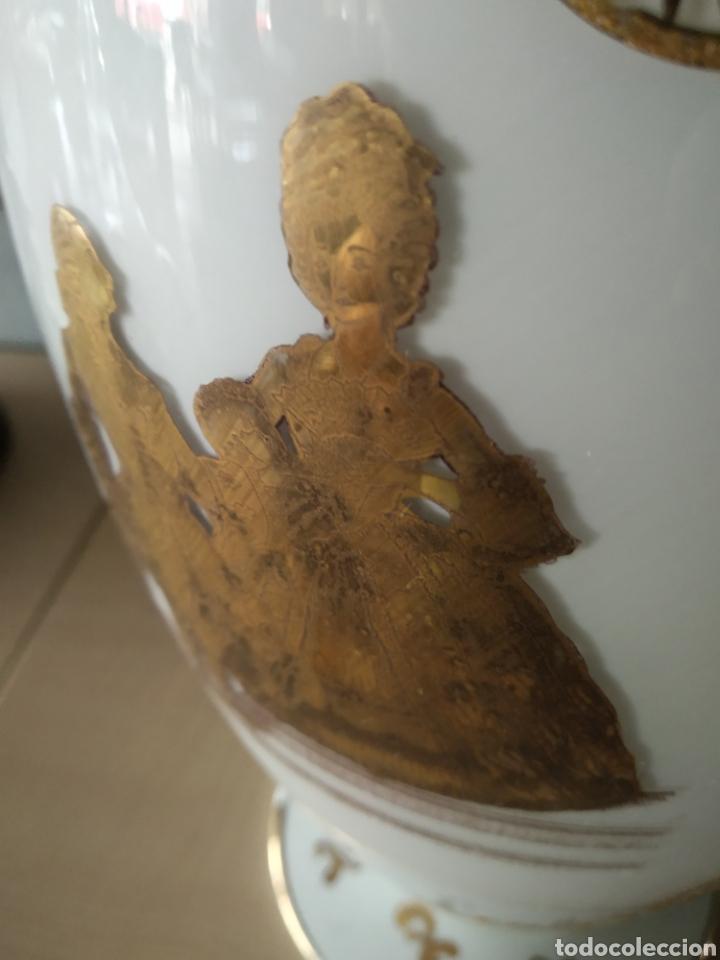 Antigüedades: Jarron de opalina - Foto 3 - 166181066