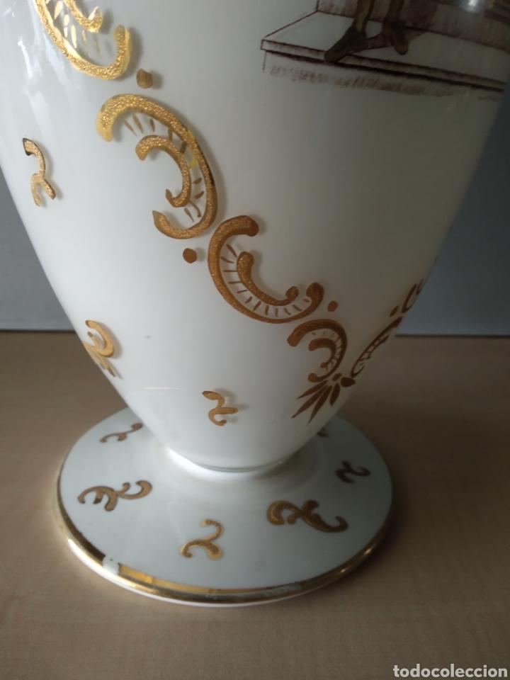 Antigüedades: Jarron de opalina - Foto 4 - 166181066