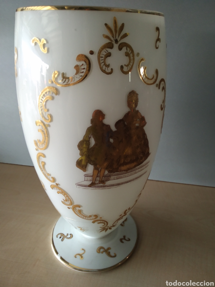 Antigüedades: Jarron de opalina - Foto 9 - 166181066