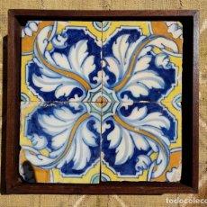 Antiquitäten - Pieza azulejos Talavera de la Reina (Toledo) S. XVII - 166184306