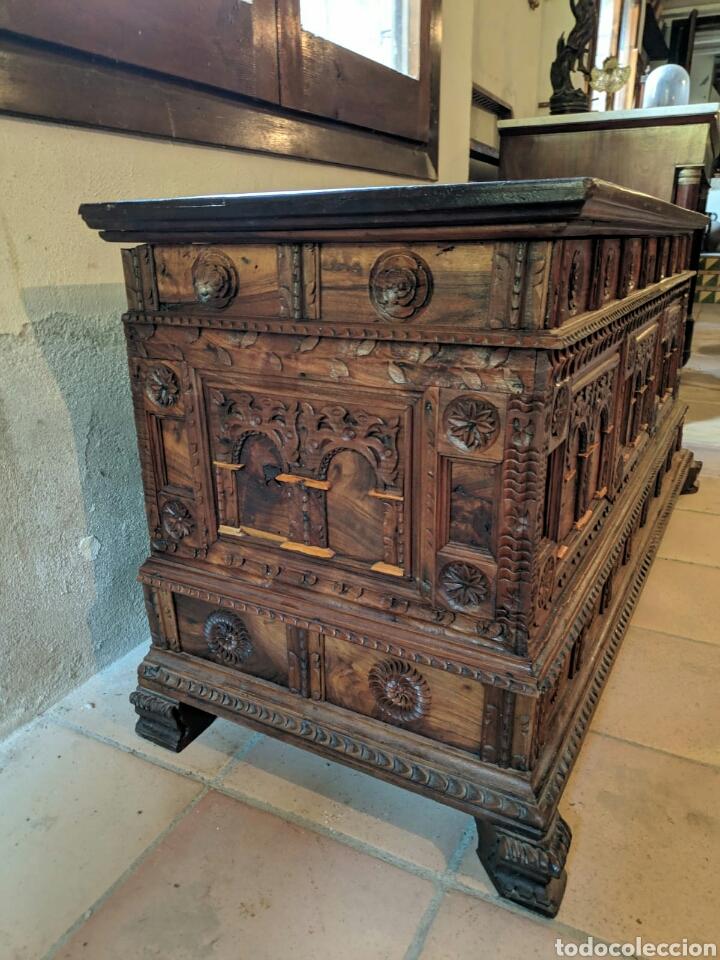 Antigüedades: Caja arcon - Foto 2 - 166202320