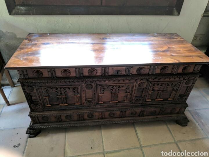 Antigüedades: Caja arcon - Foto 7 - 166202320