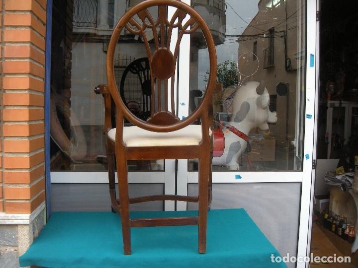 Antigüedades: SILLÓN DE CAOBA - Foto 8 - 166220538