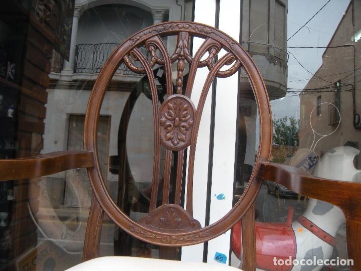 Antigüedades: SILLÓN DE CAOBA - Foto 10 - 166220538