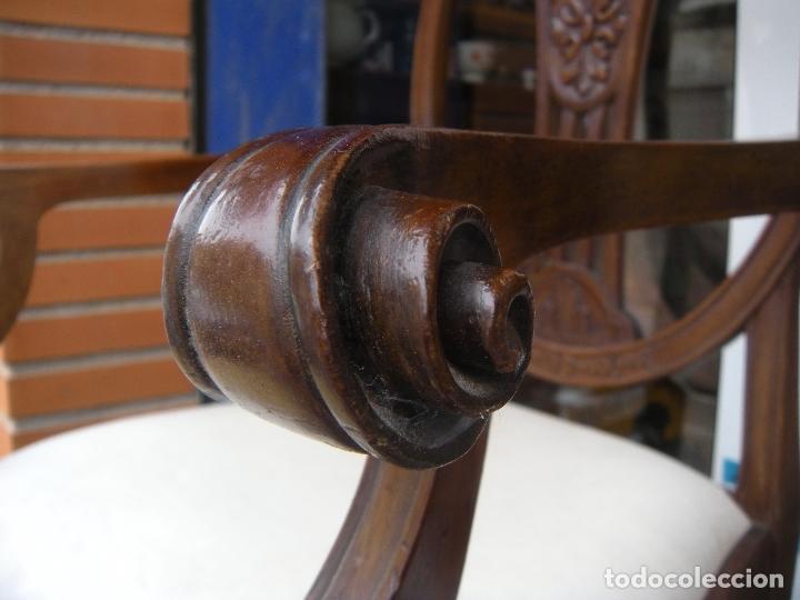 Antigüedades: SILLÓN DE CAOBA - Foto 15 - 166220538
