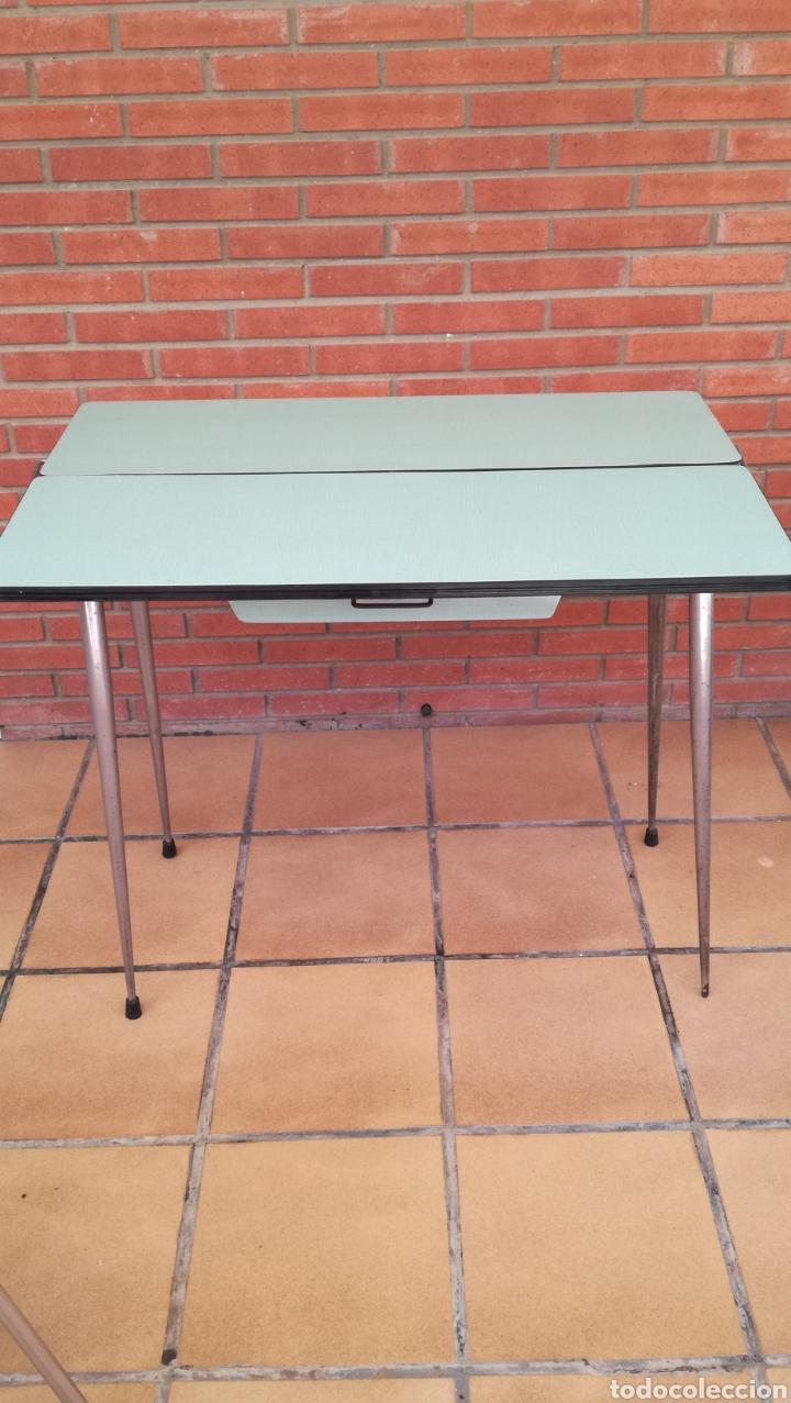 Antigüedades: Mesa y sillas cocina Vintage - Foto 2 - 166235944