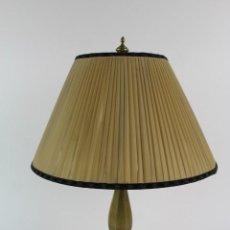 Antigüedades: LAMPARA DE SOBREMESA EN BRONCE. MEDIADOS S.XX.. Lote 166291110
