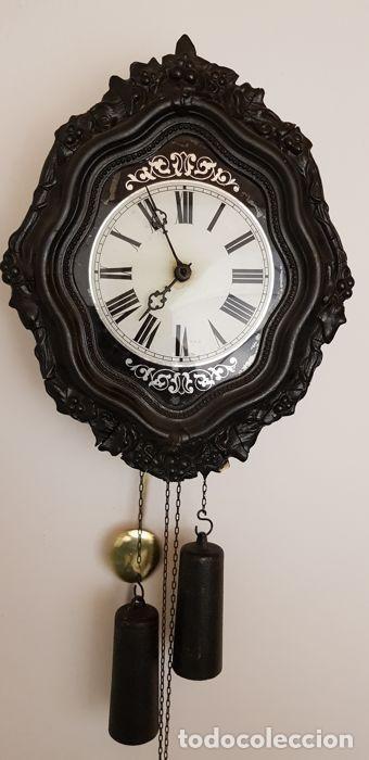 Antigüedades: Reloj de madera - Foto 7 - 166302522