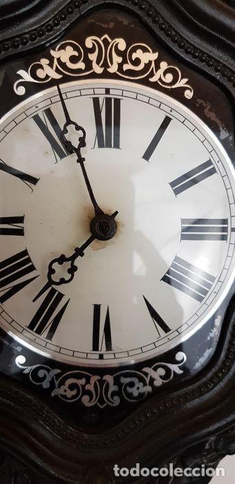 Antigüedades: Reloj de madera - Foto 8 - 166302522