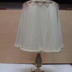 Antigüedades: ELEGANTE LÁMPARA DE BRONCE, EN FUNCIONAMIENTO. Lote 166315490