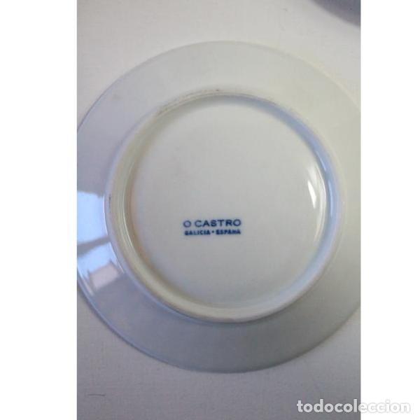 Antigüedades: Antiguo juego de porcelana O Castro vajilla - Foto 13 - 166316118