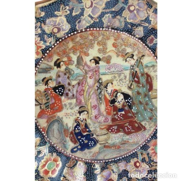 Antigüedades: Antiguo plato de porcelana china - Foto 2 - 166324506