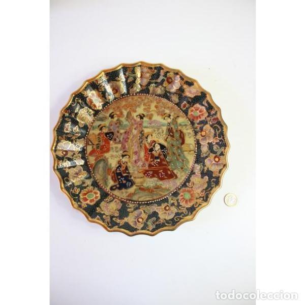 Antigüedades: Antiguo plato de porcelana china - Foto 4 - 166324506