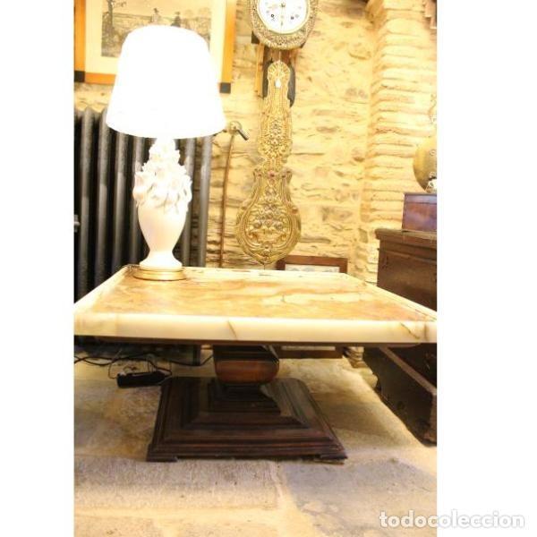 Antigüedades: Antigua mesa de ónix - Foto 3 - 166326110