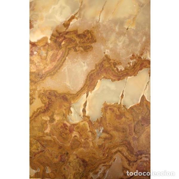 Antigüedades: Antigua mesa de ónix - Foto 4 - 166326110