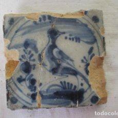 Antigüedades: AZULEJO TRIANA SIGLO XVIII. Lote 166337954