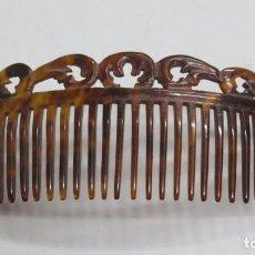 Antigüedades: ANTIGUA PEINETA. SIMIL CAREY. AÑOS 20. Lote 166357118