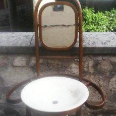 Antigüedades: MUEBLE PALANGANERO .. Lote 166366446