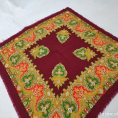 Antigüedades - Pañuelo de merino estampado - 166368286