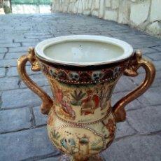 Antigüedades: JARRÓN CHINO DE PORCELANA. Lote 166384213