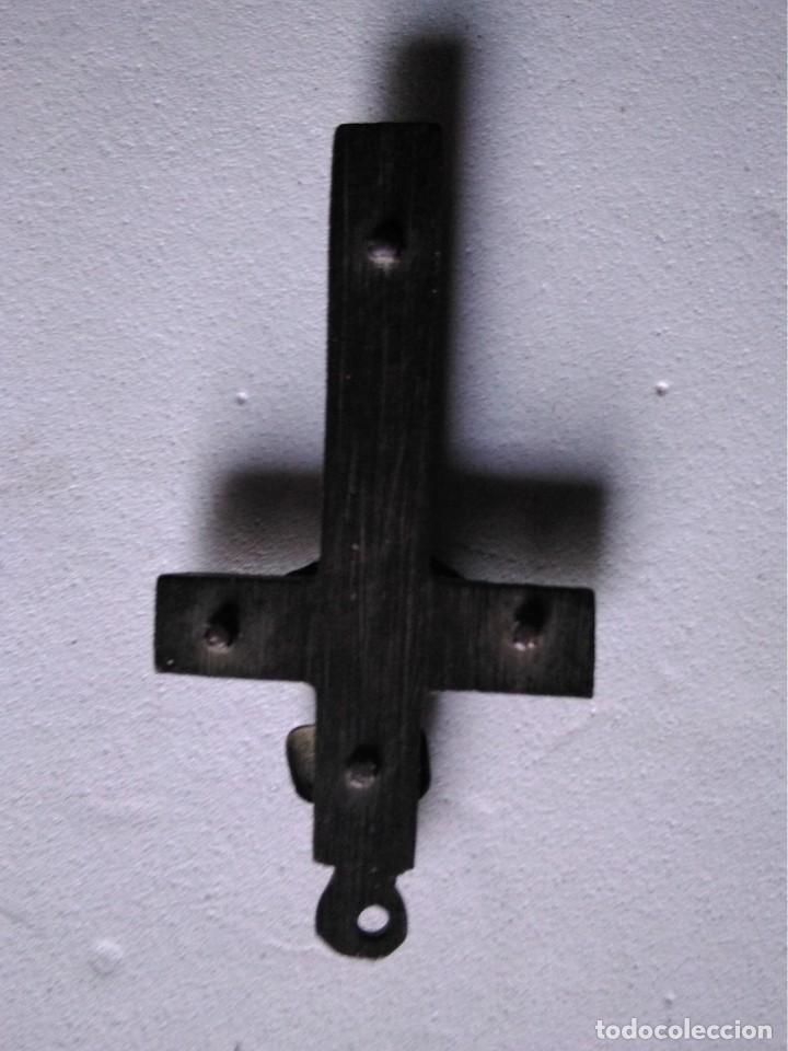 Antigüedades: Crucifijo de Rosario en bronce, siglo XvIII - Foto 2 - 166398442