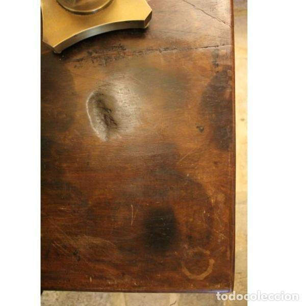 Antigüedades: Antigua mesa de madera de nogal - Foto 3 - 166406202