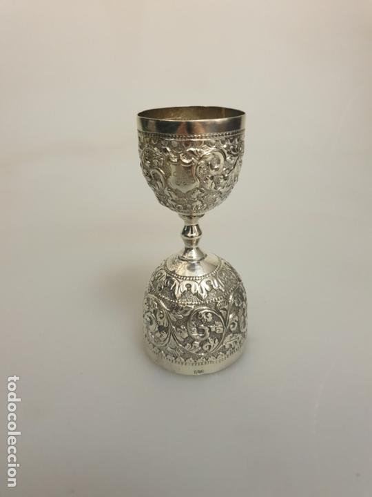 nuevo producto 3ea45 586fe Vaso Medidor doble para Cócteles en plata tailandesa