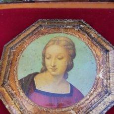 Antigüedades: ANTIGUO CUADRO DE LA VIRGEN. Lote 166414972