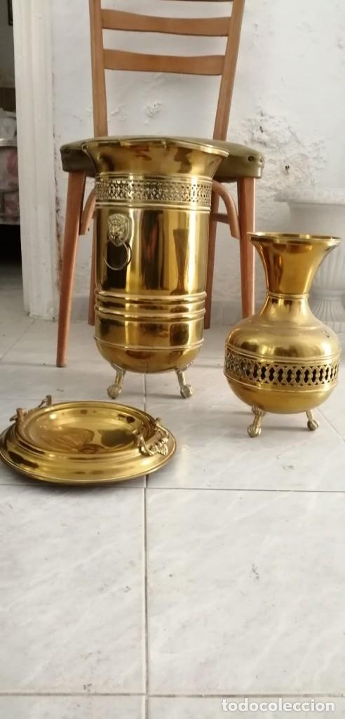 Antigüedades: Artículos de bronce o latón. - Foto 3 - 163987974