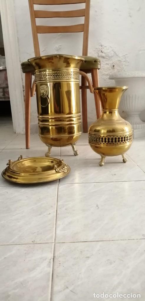 Antigüedades: Artículos de bronce o latón. - Foto 2 - 163987974