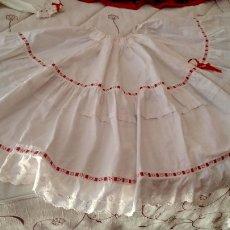 Antigüedades - Original enagua cancán traje regional,indumentaria - 166435725