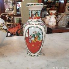Antigüedades: BONITO JARRON CHINO. Lote 166437090
