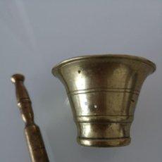 Antigüedades: ANTIGUO ALMIREZ DE BRONCE SIGLO XVIII PIEZA DE COLECCIÓN . Lote 166440882