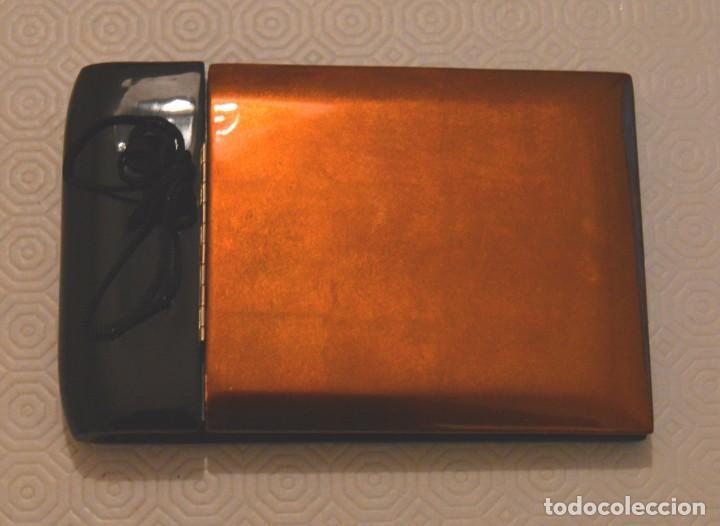 ALBUM FOTOS -LACADO JAPONES - SIN USAR - LACA (Antigüedades - Hogar y Decoración - Portafotos Antiguos)