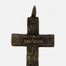 Antigüedades: ANTIGUA CRUZ ORTODOXA S. XVI-XVII. Lote 166461342