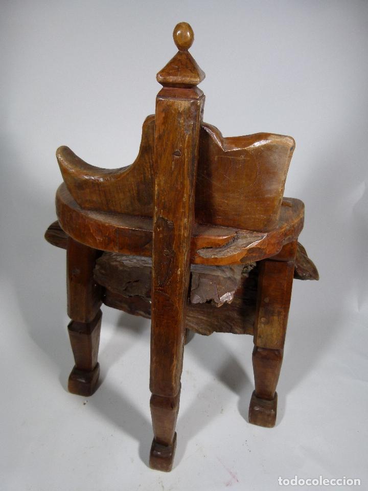 Antigüedades: SILLON ART BRUT ESCULTURA - Foto 3 - 166484450