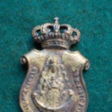 Antigüedades: MEDALLA ANTIGUA REAL HERMANDAD DEL ROCIO HUELVA. Lote 166488998