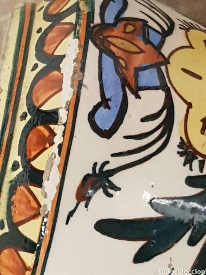 Antigüedades: Singular pieza de cerámica o porcelana vidriada procedencia desconocida - Foto 5 - 166491733