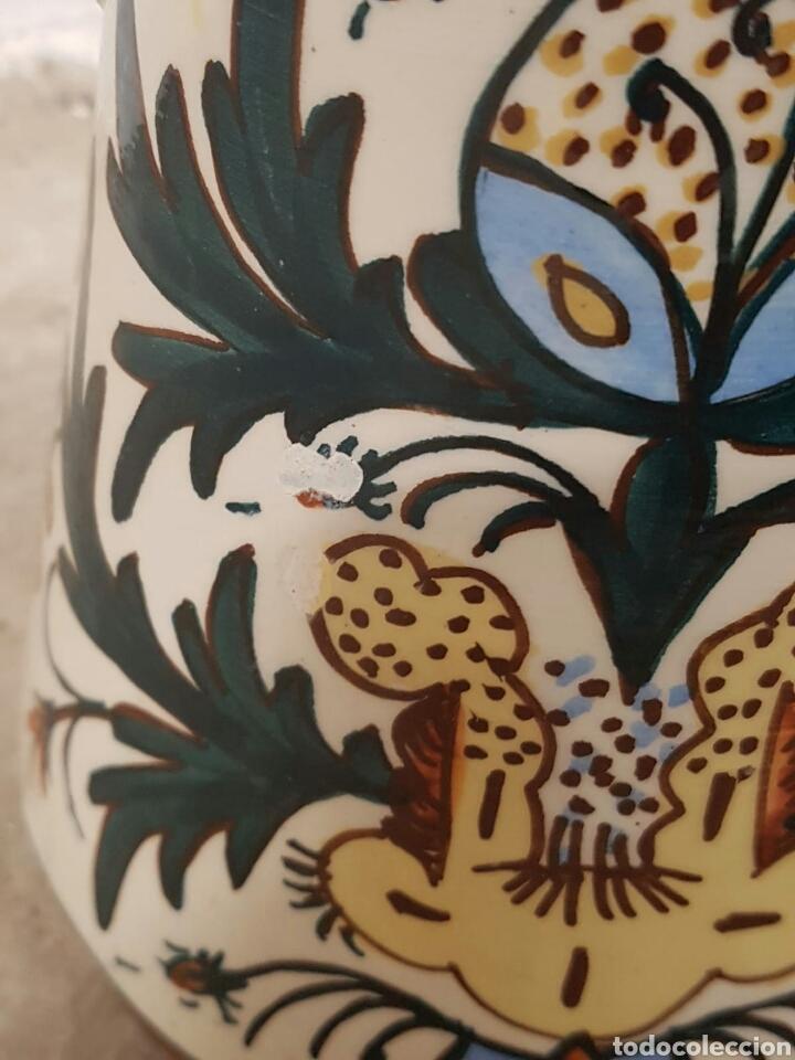 Antigüedades: Singular pieza de cerámica o porcelana vidriada procedencia desconocida - Foto 2 - 166491733