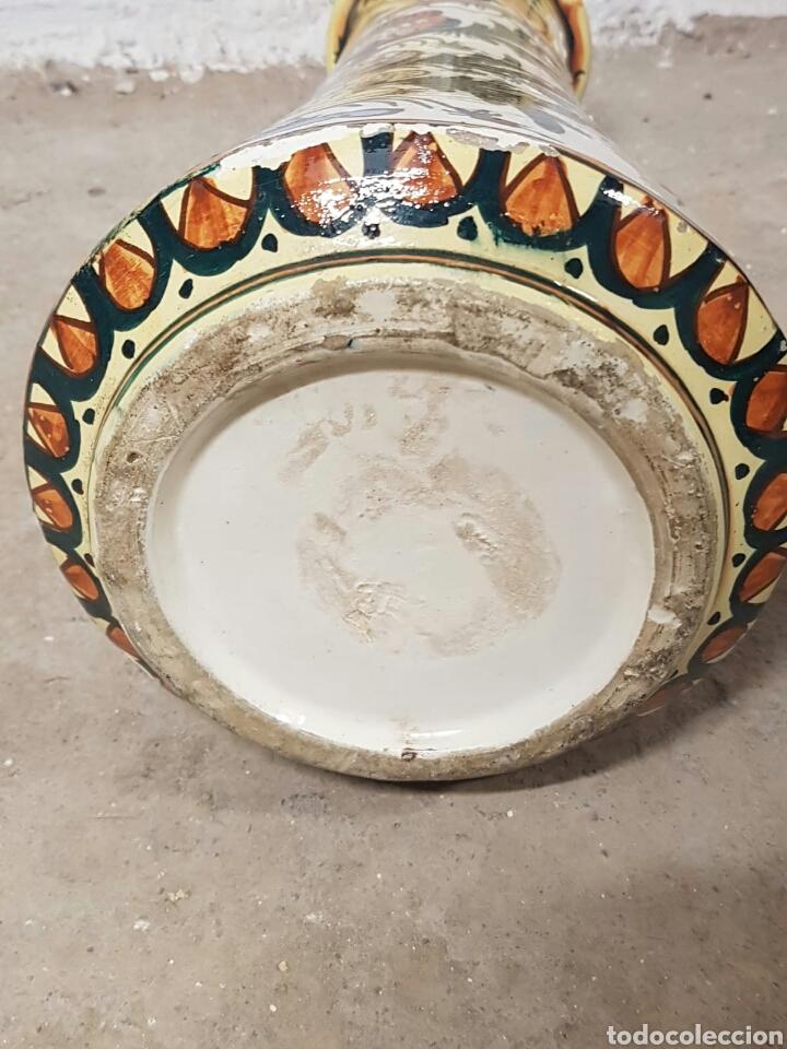Antigüedades: Singular pieza de cerámica o porcelana vidriada procedencia desconocida - Foto 8 - 166491733