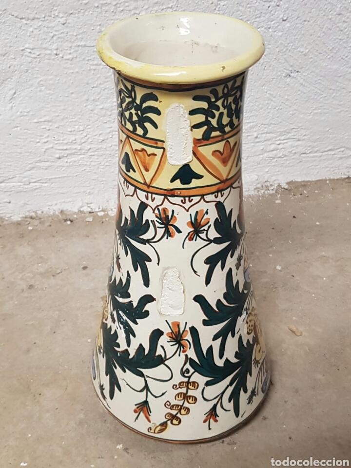 Antigüedades: Singular pieza de cerámica o porcelana vidriada procedencia desconocida - Foto 9 - 166491733