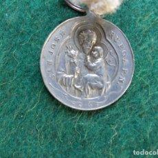 Antigüedades: MEDALLA ANTIGUA CON CORDON PATRONATO DE CABRA NUESTRA SEÑORA DE LA SIERRA 1908. Lote 172744030