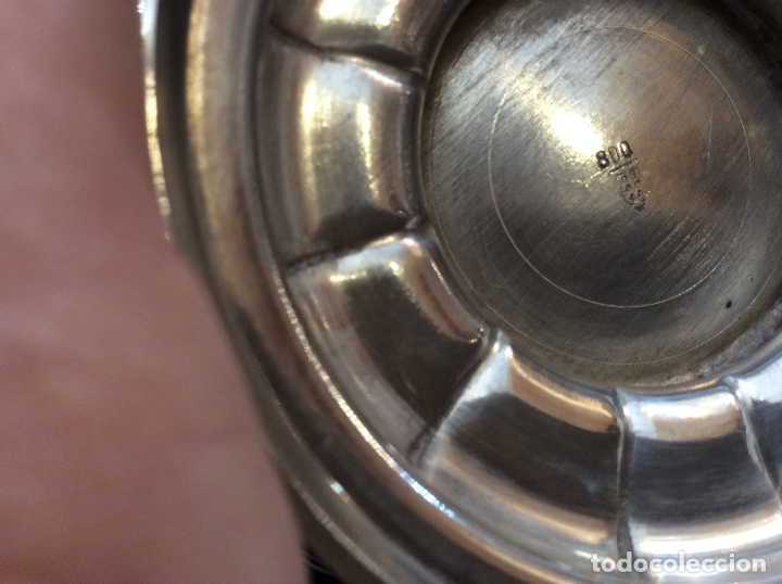Antigüedades: JUEGO DE CAFE. PLATA DE LEY. - Foto 12 - 83416900