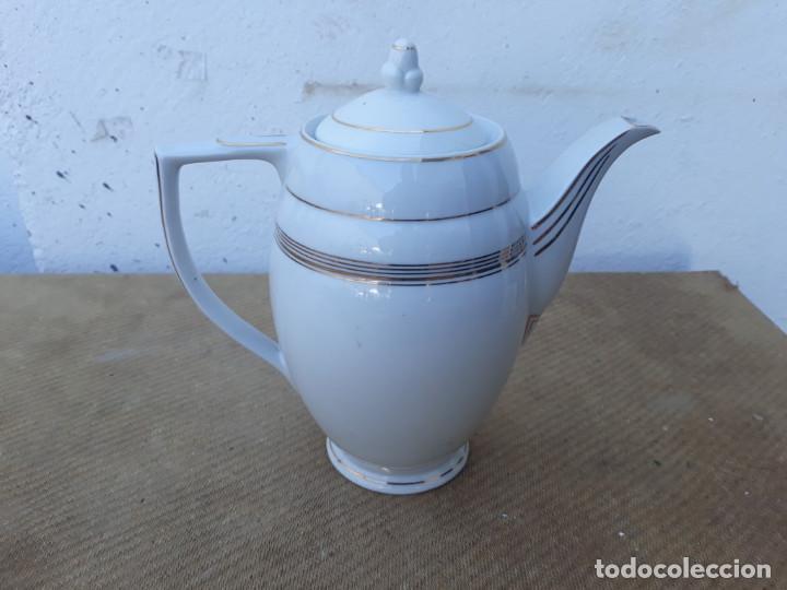 TETERA PORCELANA (Antigüedades - Porcelanas y Cerámicas - Otras)