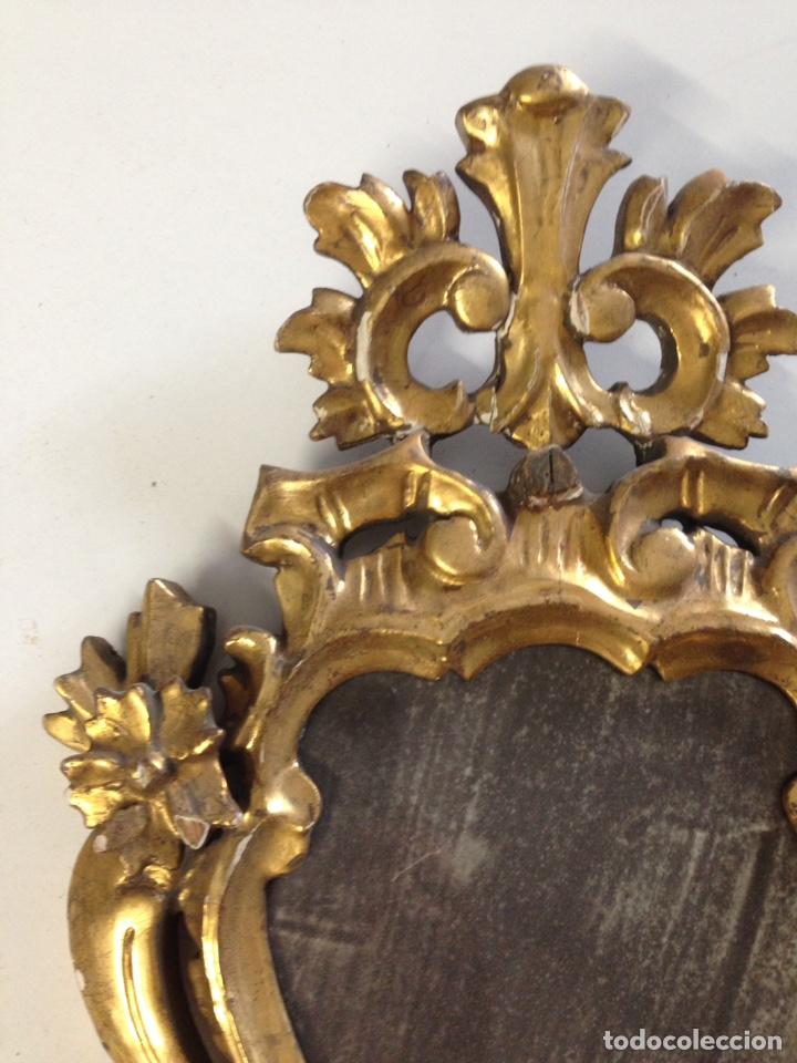 Antigüedades: Cornucopia tallada siglo XVII XVIII - Foto 3 - 166550082