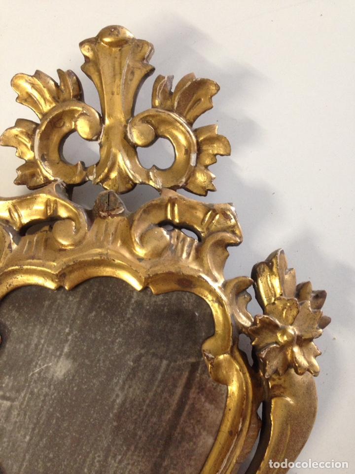 Antigüedades: Cornucopia tallada siglo XVII XVIII - Foto 4 - 166550082