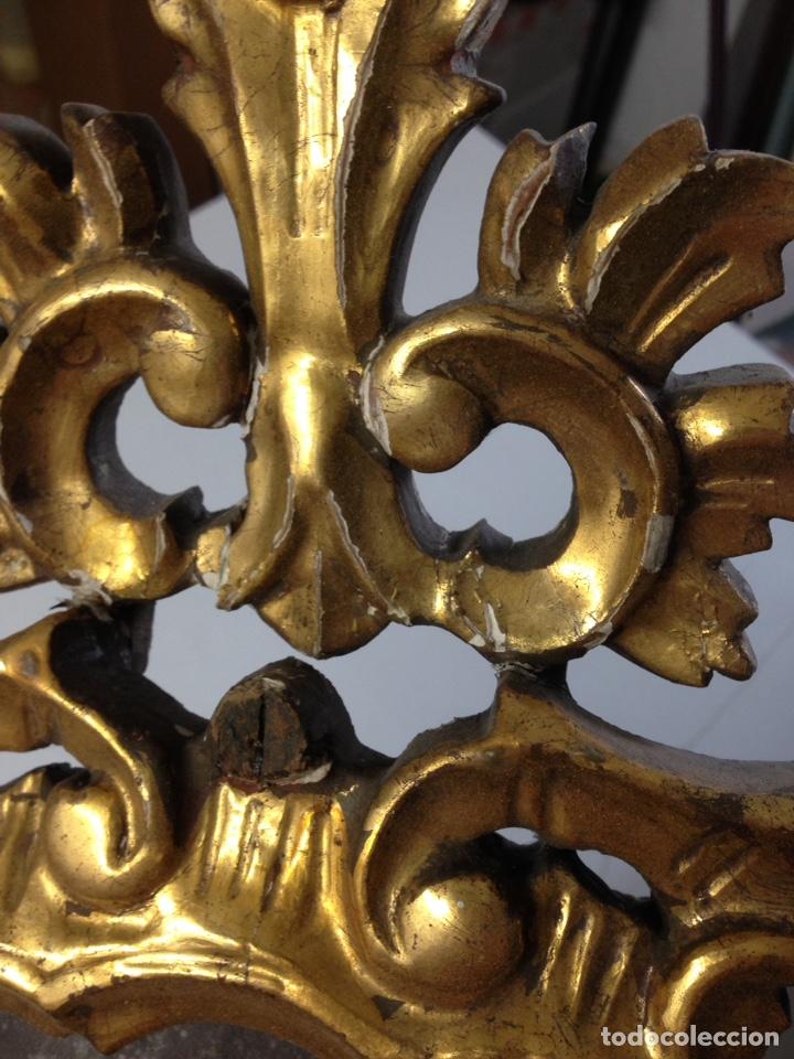 Antigüedades: Cornucopia tallada siglo XVII XVIII - Foto 7 - 166550082