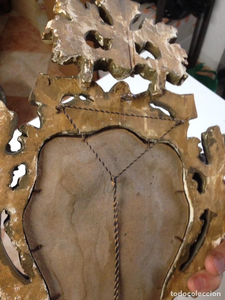 Antigüedades: Cornucopia tallada siglo XVII XVIII - Foto 11 - 166550082