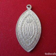 Antigüedades: BARCELONA. CORTE DE MARÍA. MEDALLITA DE ALUMINIO. 1,80 GRMS.. Lote 166558318