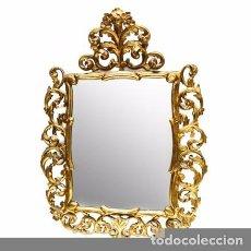 Antigüedades: CELEBRAMOS LAS 300 VALORACIONES. PRÓXIMA SUBASTA A 1 €. ESPEJO CORNUCOPIA DE PARED. 97X91.. Lote 166577713